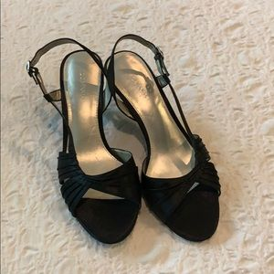 Satin sandals size 8 M